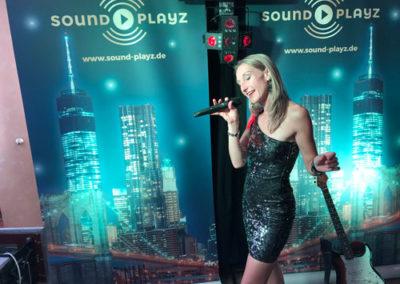 Hochzeitssängerin Angela von Sound Playz