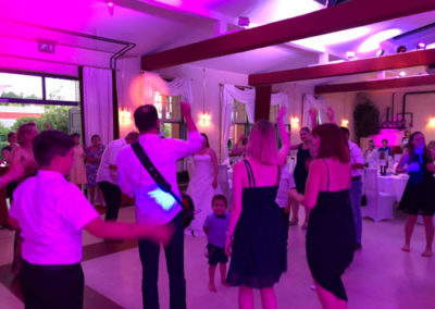 Stimmung mit Sound Playz bei einer Hochzeitsfeier